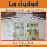 La ciudad y preposiciones The city and prepositions