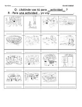 La ciudad - Spanish Community Work with Ir