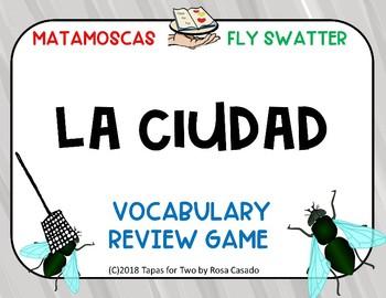 La ciudad Vocabulary game