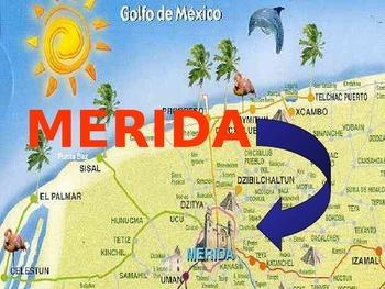 La ciudad de Mérida, México