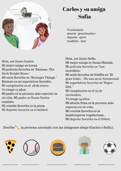 La clase de confesiones- Spanish I CI/TPRS Novel TG/FVR 80+Activities (Bundle)