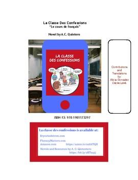 Freebie-La classe des confessions (French) Questions & Activities