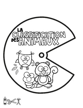 La classification des animaux - Spinner