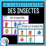 La classification des insectes - Insect Sorting Center in French FREEBIE
