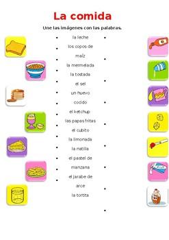 La comida / Food and drink