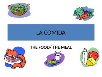 La comida--Food chapter