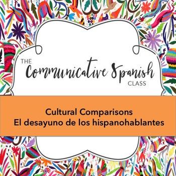 La comida: Los desayunos de los hispanohablantes: Cultural Comparison