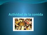 La comida- group activity