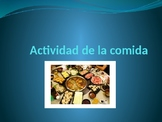 La comida- group activity
