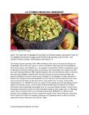 La comida mexicana Spanish Webquest (Distance Learning)