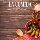 La comida supplemental activities