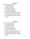 La comida translation Quiz: Realidades I Cap. 3A