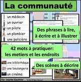 La communauté: Je pratique mon vocabulaire {French Vocabulary Practice}