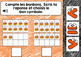La comparaison des bonbons - Boom Cards