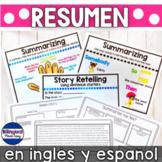 Comprension de lectura resumir en ingles y espanol DIGITAL LEARNING