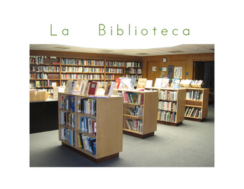 La comunidad / Community center signs Spanish