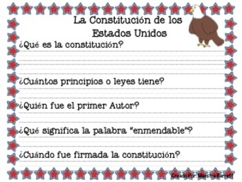 La constitución/ Los derechos de los ciudadanos