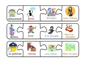 La construction de phrases