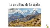 La cordillera de los Andes