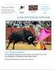 La corrida de los toros/ Bull-fighting/ Reading, Writing, Debate- Spanish 2