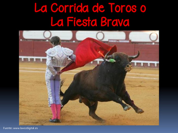 La corrida de toros / The Bullfight (IB/AP/Honors Spanish)