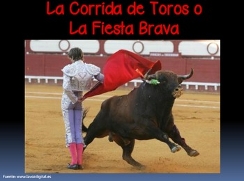 La corrida de toros / The Bullfight (IB/AP/Honors Spanish) BUNDLE