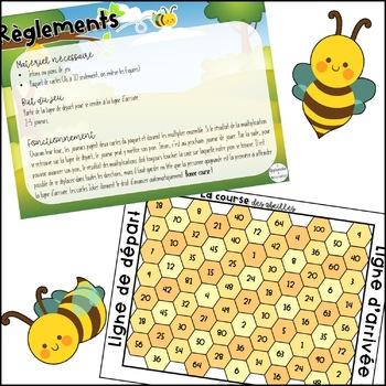 La course des abeilles
