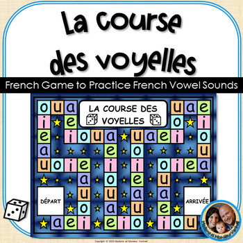 La course des voyelles - French Game to Practice French Vowel Sounds
