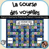 La course des voyelles - French Game to Practice French Vo