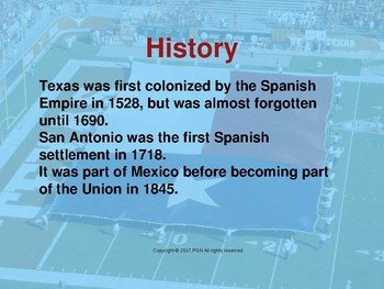 Spanish cultural activities: a mini unit about Texas