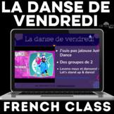 La danse de vendredi! Dance in FRENCH class
