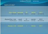 La date en Français (set of files)