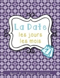 La date: les jours, les mois   The date in French: days, months