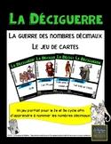 La déciguerre - Les nombres décimaux - jeu de cartes [FRENCH] [MATH CENTER]