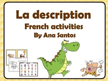 La description-French activities