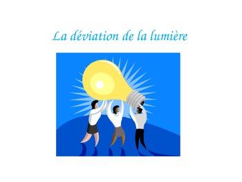 French - Science - Light deviation (La déviation de la lumière)