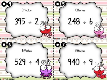La division avec un reste sous la forme d'une fraction - 2e cycle