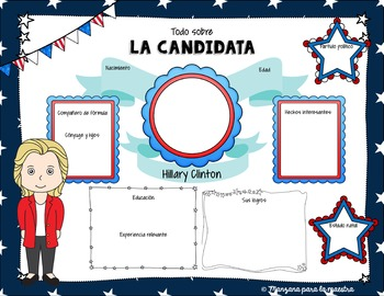 La elección 2016 Spanish Infographic Poster Project - Election 2016