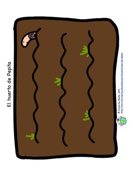 La ensalada de Pepita Spanish Printable Theme Pack Spring Garden