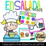 Juegos digitales - Set 1 (Interactive PDF Games in Spanish)