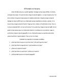 La escuela/ School life: Reading Passage and Comprehension