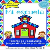 La escuela SUPER BUNDLE: vocabulario, juegos y escritura -