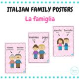 La famiglia (Italian family posters)