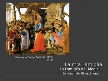 La famiglia de' Medici
