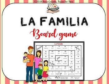 La familia Board Game