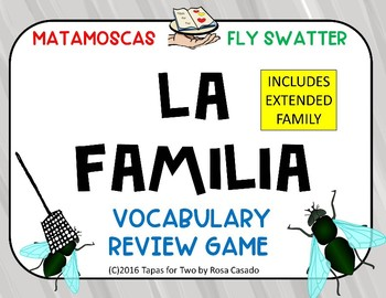 La familia Flyswatter game
