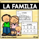 La familia - Hojas de tarea