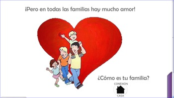 La familia 2 - Learning about the family in Spanish