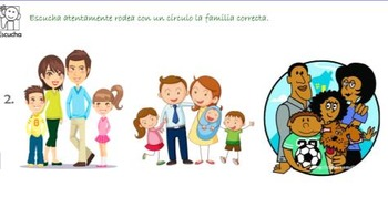 La familia 3 - Learning about the family in Spanish