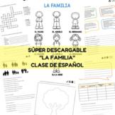 La familia Spanish  PACK #teachmorespanish
